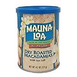 Mauna Loa Macadamias, Dry Roasted with Sea Salt, 4.5 Ounce Container