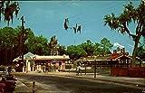 Amusement Center at Jacksonville Zoo Jacksonville, Florida Original Vintage Postcard offers