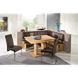 Awe Inspiring Amazon Com 4 Piece Dining Set High End Corner Bench Inzonedesignstudio Interior Chair Design Inzonedesignstudiocom