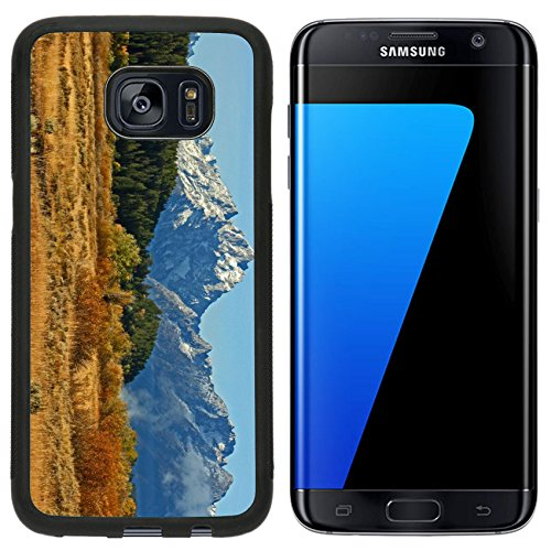 MSD Premium Samsung Galaxy S7 Edge Aluminum Backplate Bumper Snap Case In Grand Teton Wyoming IMAGE 22143260