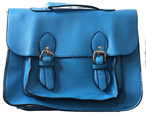 Generic , Damen Schultertasche blau blau