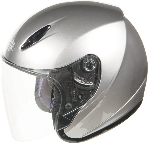Gmax G317197; Gm17 Open Face Dark Silver Met Made by Gmax
