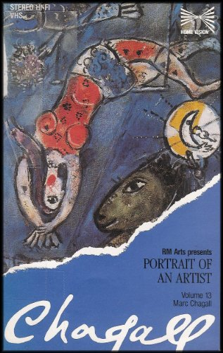RM Arts Presents Portrait of an Artist: Chagall [Volume 13/Marc Chagall] VHS - Valley River Mall