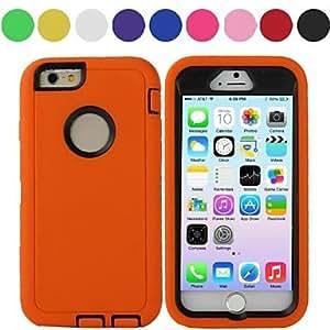 ZL iPhone 6 compatible Special Design Shatter-Resistant Case , Black