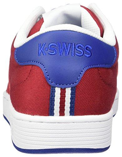 K-Swiss Hoke T Cmf, Zapatillas para Hombre Blanco (Chili Pepper/limoges/white 623)