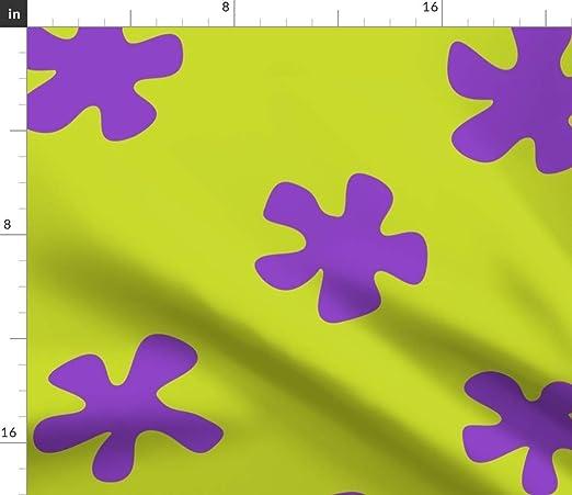 Spoonflower Tela de Patrick – Estrella de mar de Bob Esponja ...