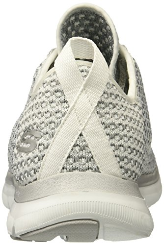 Skechers Flex Appeal 2.0 Bold Move Mujer US 5 Gris Zapatillas