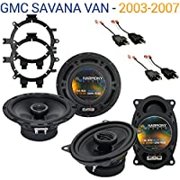 GMC Savana Van 2003-2007 Factory Speaker Replacement Harmony R5 R46 Package