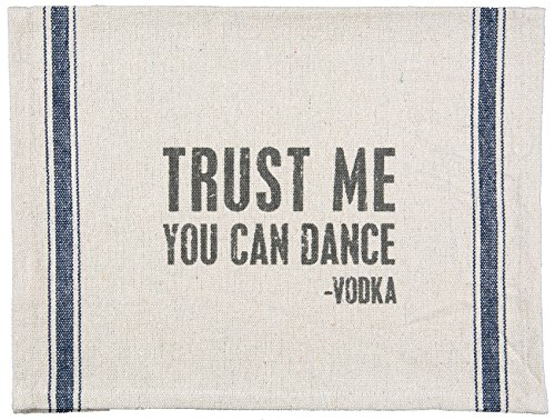 Dance Tea (Tea Towel - Trust Me You Can Dance - Vodka)