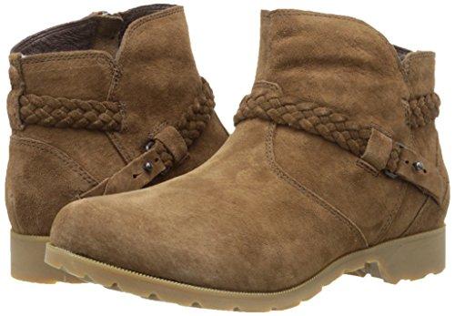 Classiques bison Teva Bottes Delavina Ankle Femme Marron qa71Rzx7