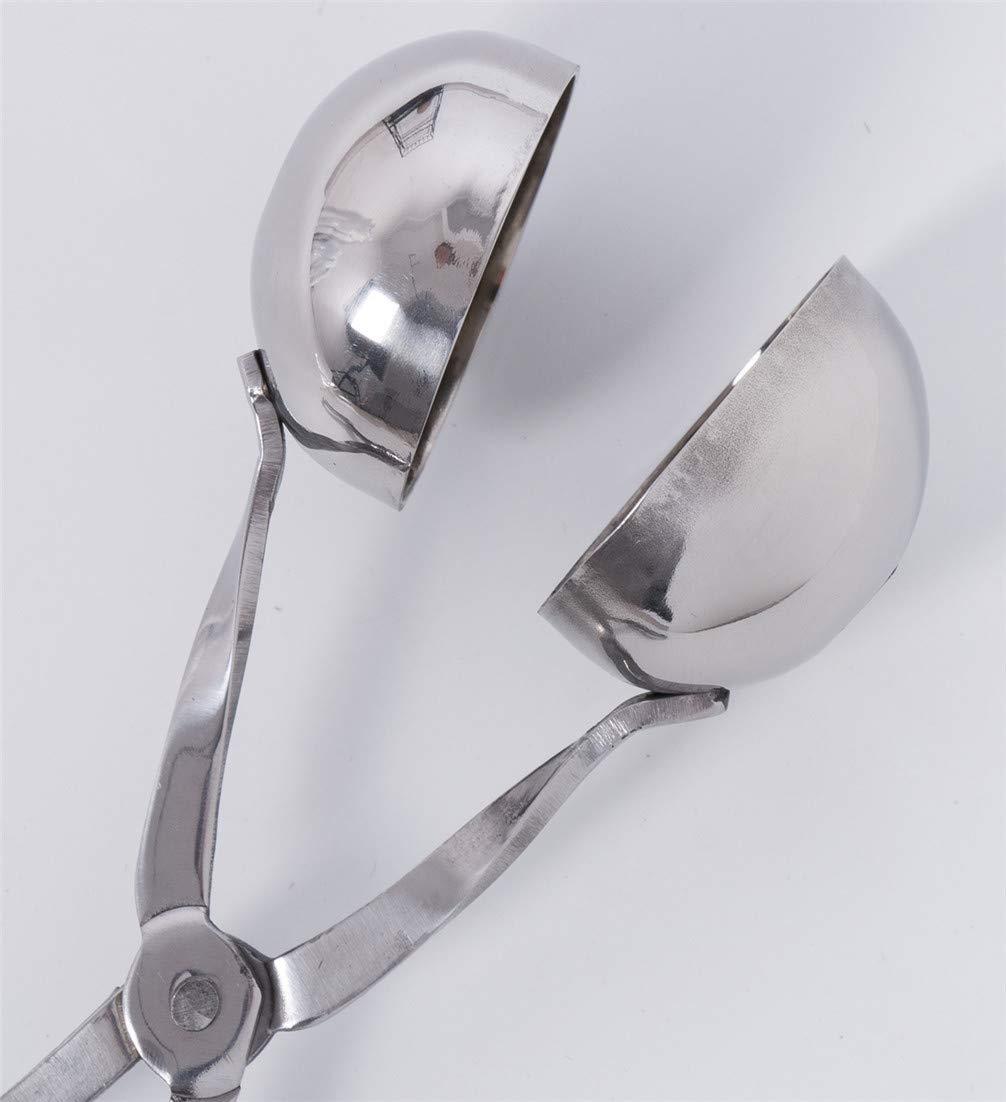 Wide.ling Cocina de Acero Inoxidable la Cucharada alb/óndiga ama casa moldes Clip Cuchara peque/ña Herramienta Conveniente Stainless Steel Meatball Tools Mould Dough Scoop Maker Tool