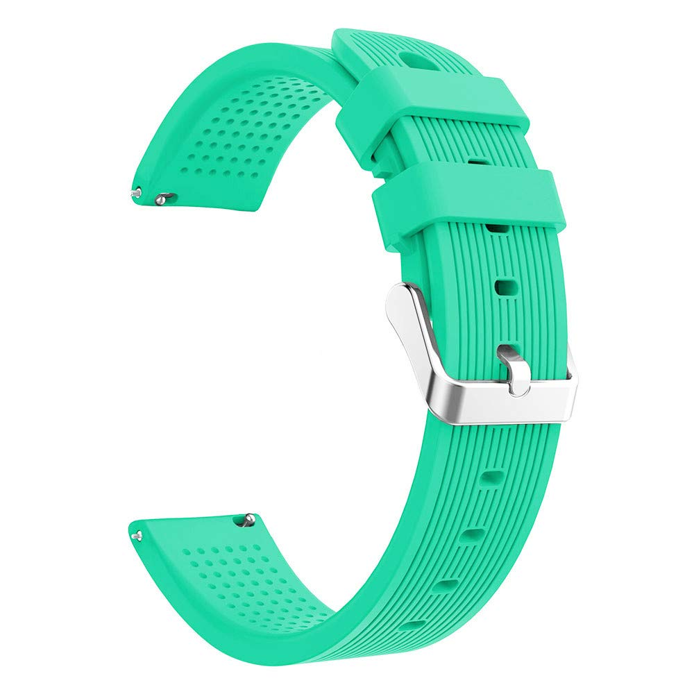 Lovewe Samsung Galaxy Watch Sport Soft Silicon Accessory,Watch Band Wirstband For Samsung Galaxy Watch 42mm (Mint Green)
