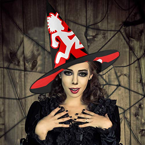 Icp Wicked Halloween (Hatchetman Icp Halloween Witch Hats Costumes For Boys Girls Women Christmas Party 1)