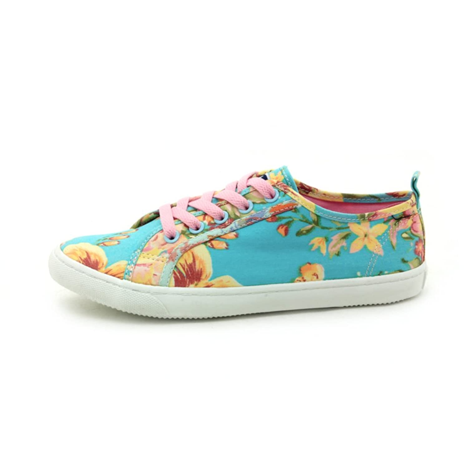 Autumn lace canvas shoes with flat/Breathable shoes/ fashion low top sneakers