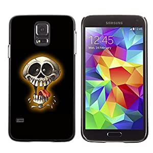 GagaDesign Phone Accessories: Hard Case Cover for Samsung Galaxy S5 - Laughing Skull