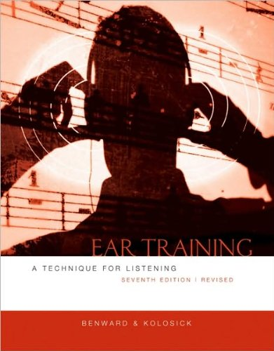 Download Ear Training (text only) 7th (Seventh) edition by B. Benward,J. T. Kolosick ebook