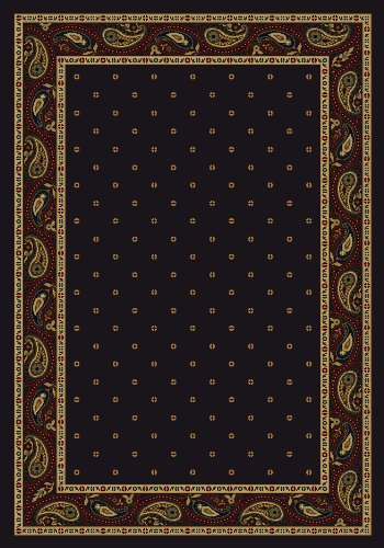 - Milliken 4000040045 Innovations Collection Paisley Runner Area Rug, 2'1