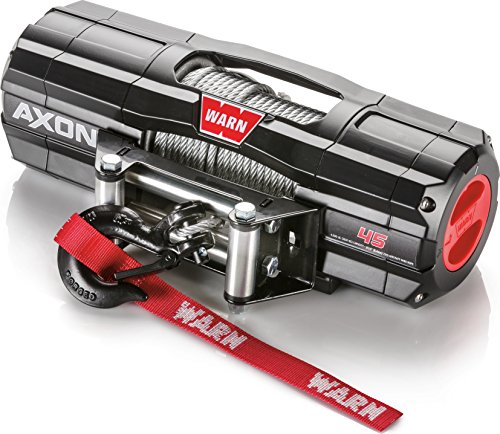 WARN 101145 AXON 45 Powersports Winch With Steel Rope by WARN (Image #1)