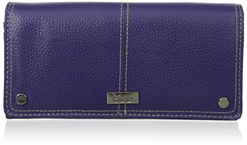 Buxton Women's Westcott Expandable Clutch, Mulberry, One Size ()