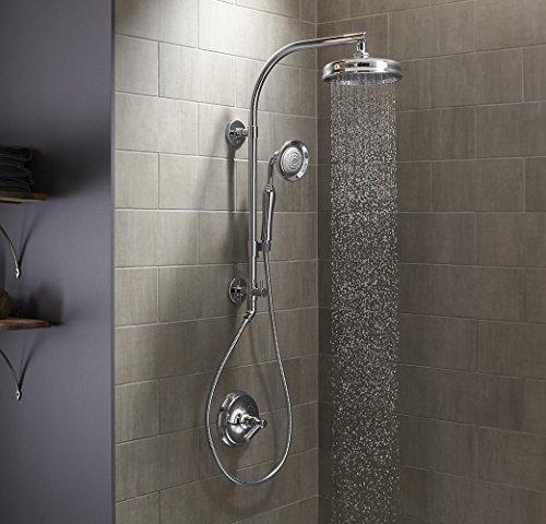 KOHLER K-45211-BN HydroRail -R Shower Column, Vibrant Brushed Nickel