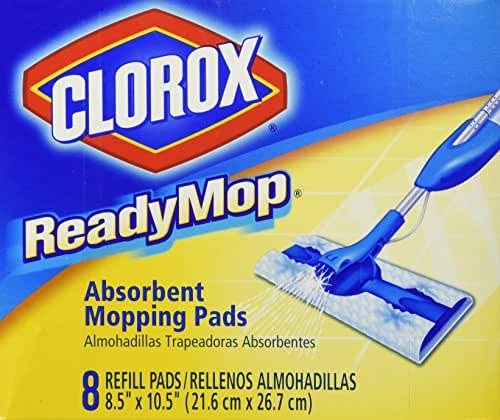 Mops & Accessories: Clorox ReadyMop Absorbent Mopping Pads