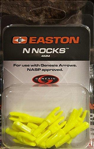 Easton Genesis N Archery Nocks (12 Pack), Yellow