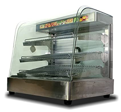Exceptionnel MTN Commercial Stainless Steel Countertop Food Pizza Display Warmer 25u0026quot  ...