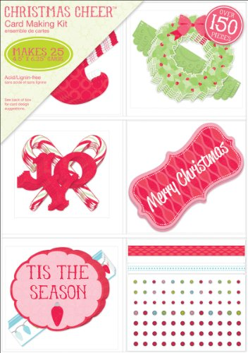High Quality ... Paper Company Christmas Cheer Card Making Kit ...
