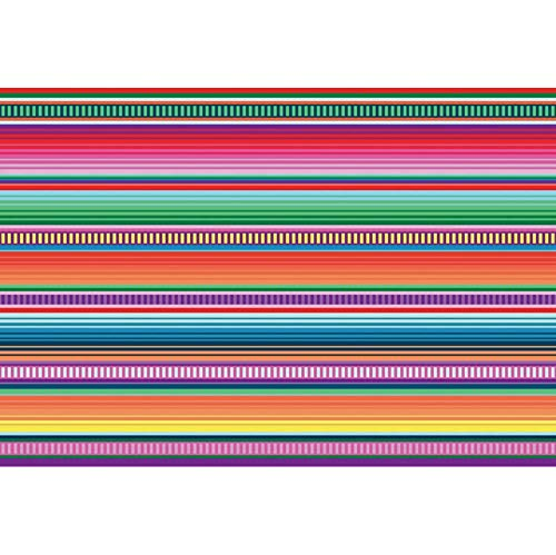 DORCEV Polyester 7x5ft Colorful Fiesta Stripes Theme Backdrop Fiesta Birthday Party Baby Shower Background Colorful Stripes Cinco De Mayo Mexican Festival Party Banner Kids Adult Photo Studio Props