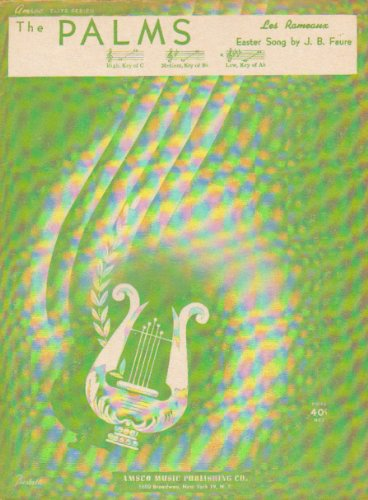 The Palms Les Rameaux Easter Song (Sheet Music)