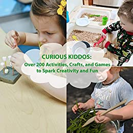 Curious Kiddos:  Over 200 Activities, Crafts, and Games to Spark Creativity and Fun by [Pruce, Katherine]