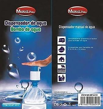 BOMBA DE AGUA DOSIFICADOR DE BOTELLA DISPENSADOR DE GARRAFA DE AGUA CALIDAD: Amazon.es: Hogar