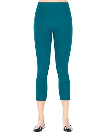 89949cc00f2d84 Spanx Women's Ready to Wow Capri Structured Leggings, Regal Blue SM X 19 at  Amazon Women's Clothing store: