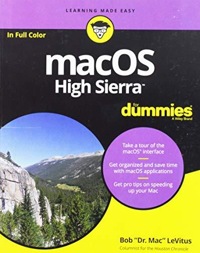 macOS High Sierra For Dummies (Julie Macintosh)