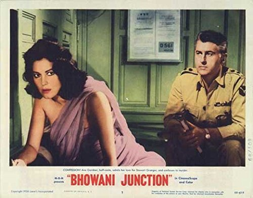 Bhowani Intersection POSTER Movie (1955) Style G 11 x 14 Inches - 28cm x 36cm (Ava Gardner)(Stewart Granger)(Bill Travers)(Abraham Sofaer)(Francis Matthews)(Marne Maitland)(Peter Illing)