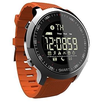 PINCHU Reloj inteligente Bluetooth Deporte pod¨®metro Llamada impermeable Recordatorio digital hombres SmartWatch Dispositivos