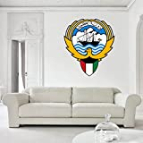 Kuwait's Coat of Arms Vinyl Decal Wall, Car, Laptop - 12 inch