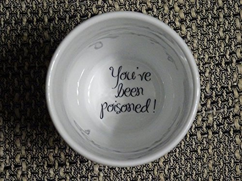 Hidden Message (You have been poisoned Coffee Mug, surprize mug, Father, Grandmother, Bottom mug, hidden message, secret message, Funny, Cool, Coffe cup)