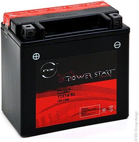 YTX5L-BS 12V 4Ah NX Batterie Moto NTX5L-BS