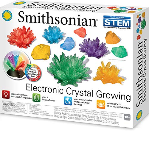 Smithsonian Electronic Crystal Growing