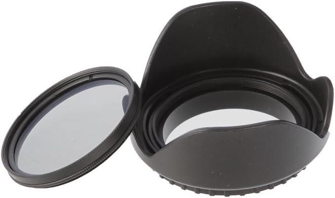 Fotga 72mm Petal Flower Lens Hood for Canon Nikon Sony Pentax DSLR Cameras Lens Filter Cap