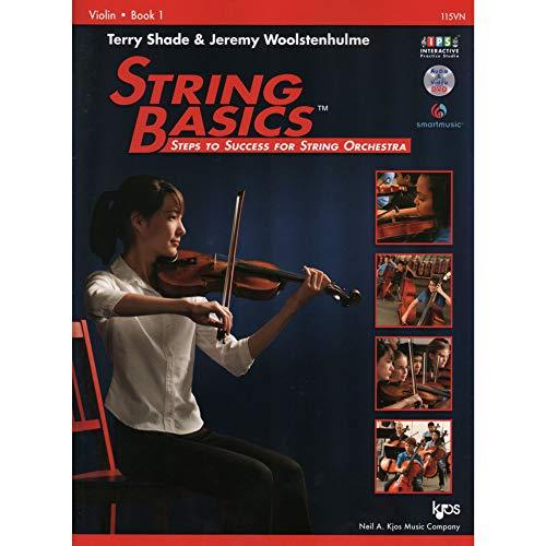 115VN - String Basics: Steps to Success for String Orchestra Violin Book 1 (String Method Violin Book)