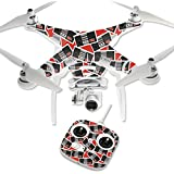 MightySkins Protective Vinyl Skin Decal for DJI Phantom 3 Standard Quadcopter Drone wrap cover sticker skins Retro Controllers 3