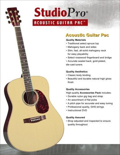Amazon Com Saga Spg 1 Studio Pro Acoustic Guitar Outfit Japan