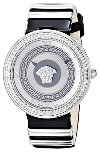 Versace Women's VLC010014 V-METAL ICON Stainless Steel Watch with Two-Tone - Icons Metal
