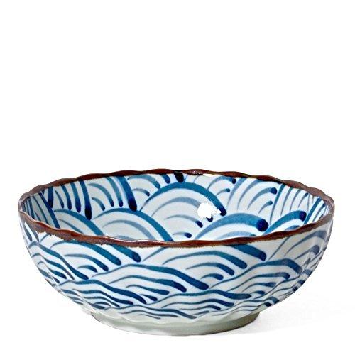 - Blue Ocean Wave Bowl 7.25