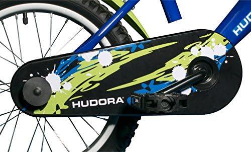 Hudora - 10541 - Vélo Enfant - Vert/Bleu - 16