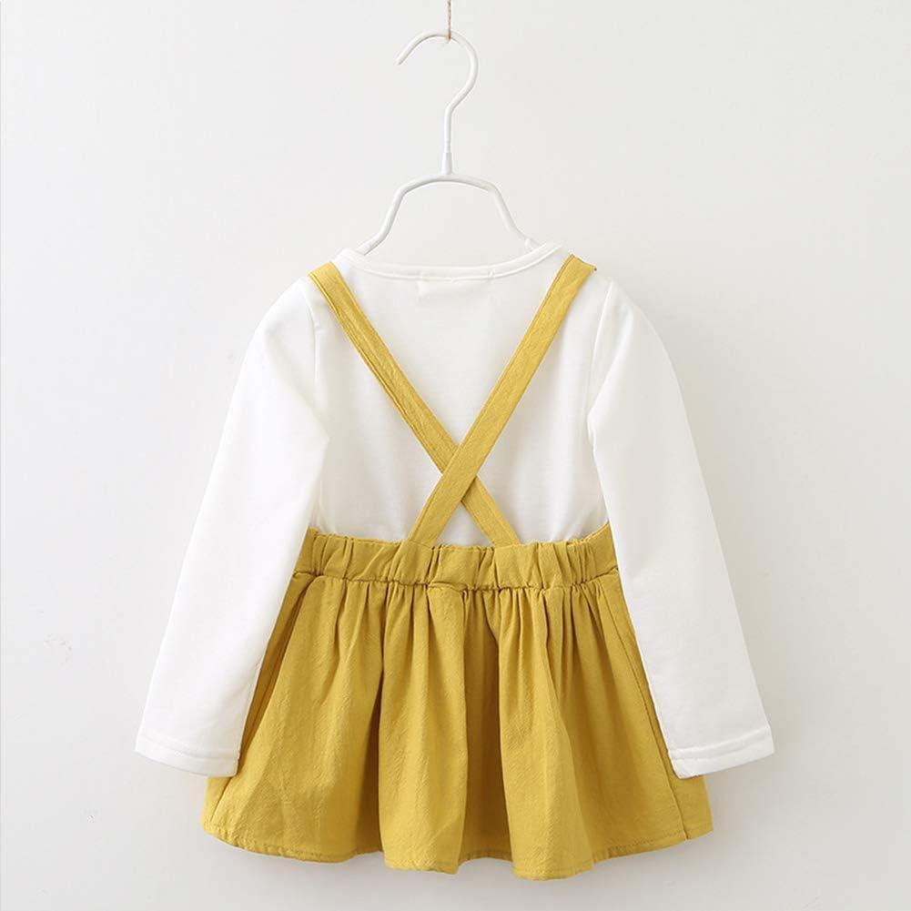 Toddler Baby Girls Cute Rabbit Mini Dress Long Sleeve Bandage Bunny Dress