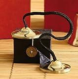 Ritualgegenstände Zimbel klein in Geschenkbox