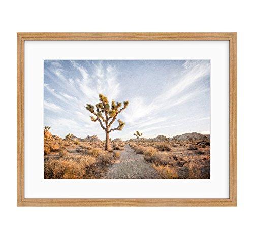 (Framed Photographic Print, Southwest Wall Art, Joshua Tree Photography, California Desert Decor, Palm Springs Landscape Art, Path to Joshua')